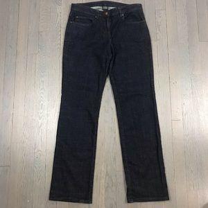 Eileen Fisher Dark Wash Bootcut Straight Jeans